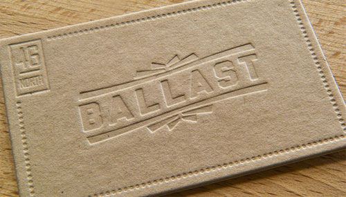Business Card for: Ballast