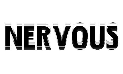 Nervous font