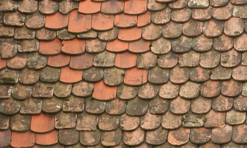 tiled roof texture