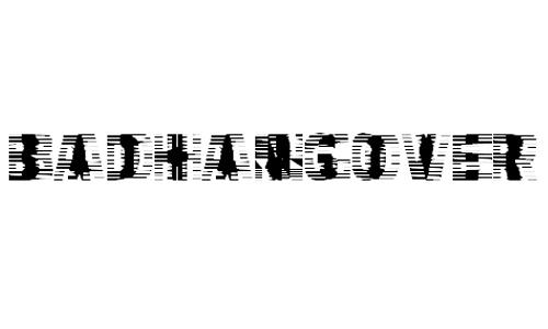 VTC-BadHangoverOne font