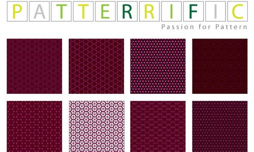 Free Seamless Pixel Patterns Dark Purple