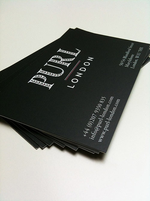 purl Business Card