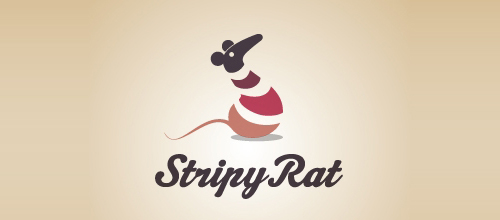 Stripy Rat logo