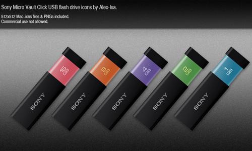 Sony Micro Vault Click