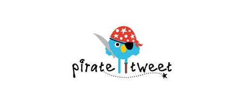 Pirate Tweet logo