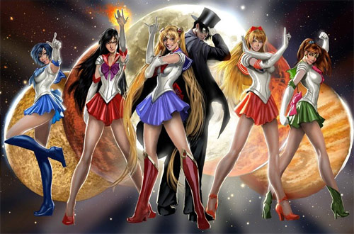 sailor moon go figure