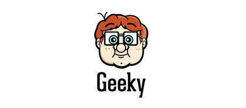 Geeky logo