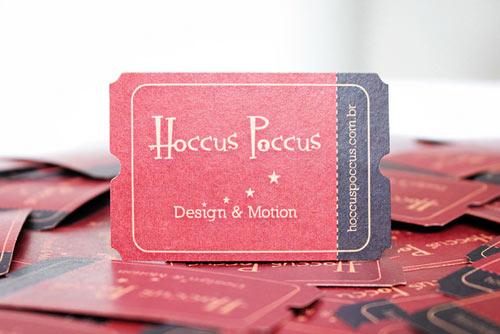 Hoccus Poccus Business Card