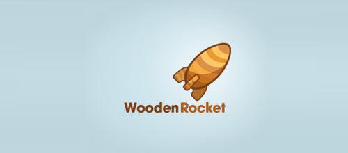 Wooden Rocket logo
