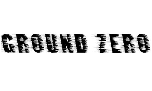 Ground Zero font