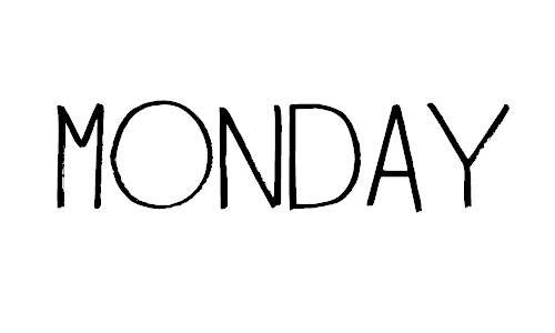 Monday Morning font