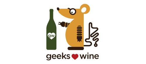 Simpler Geeks Love Wine logo