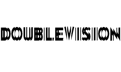 DoubleVision font