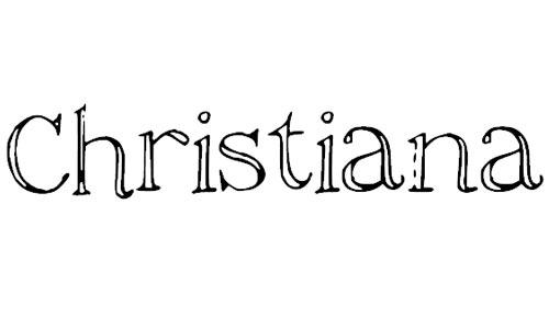 christiana font