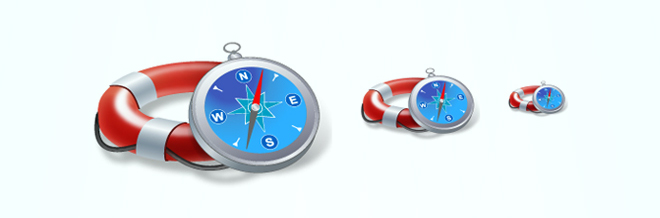 A Collection of Attractive Compass Icon