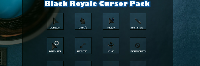 30 Sets of Free Cursor Icon
