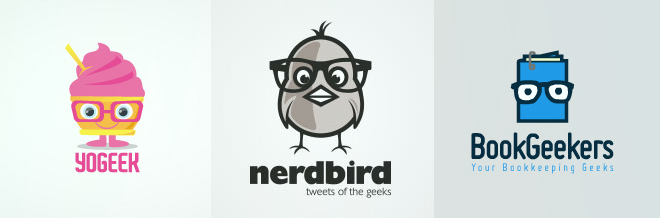 33 Cool Designs of Geek Logo for your Inspiration