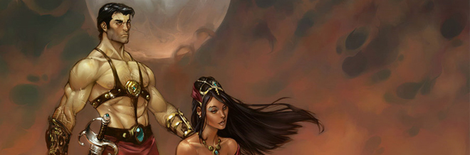 22 John Carter of Mars Illustration Artworks