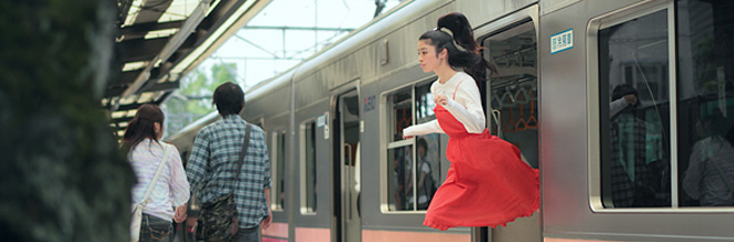 Girl Floats on Air in Yowayowa's Levitation Photography