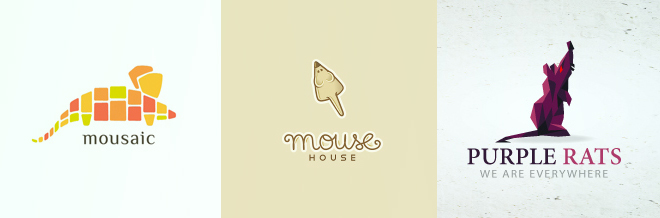 30 Awesome Designs of Mouse Logo