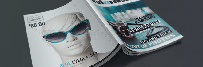 25 Ready to Print Premium Magazine Templates