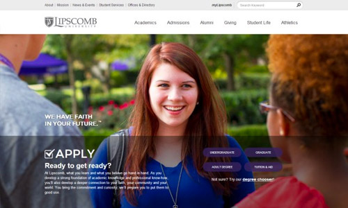 lipscomb university website