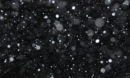 snow texture night