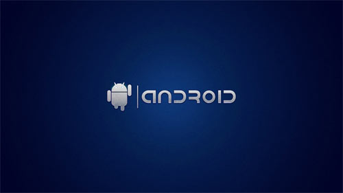 Android on Blue wallpapers