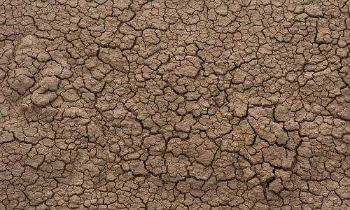 Brown dry mud texture