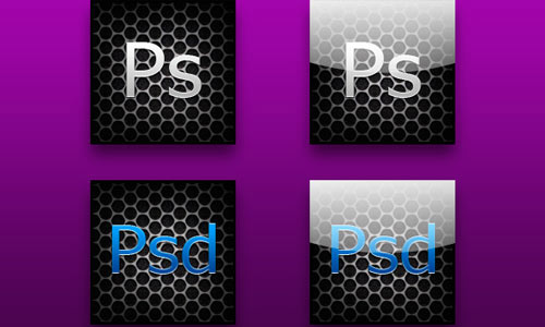 Photoshop Icons - Carbon Style