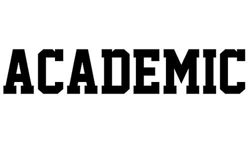 Academic M54 font