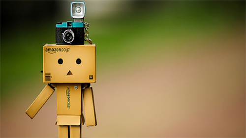 Camera danbo photography cute
