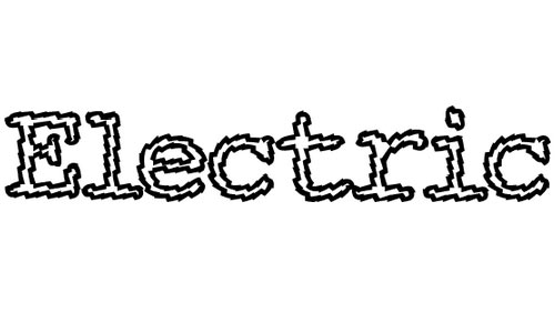 Electric Hermes AOE Charge font