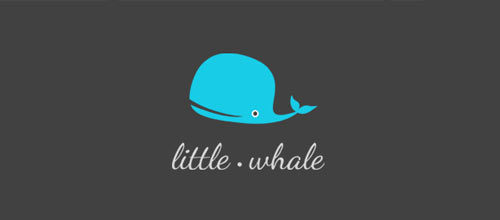 Little whale logo