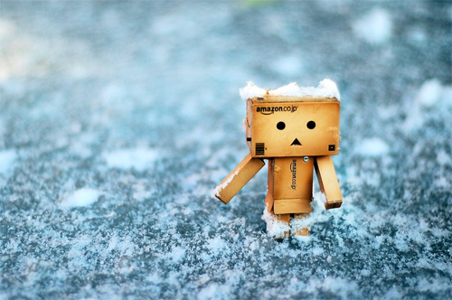 Ice snow danbo photography cute