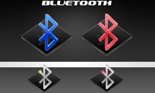 Bluetooth icons