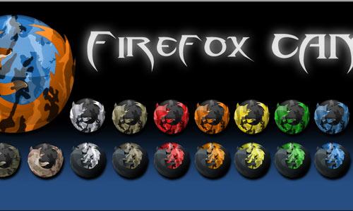 Camo Firefox Icons