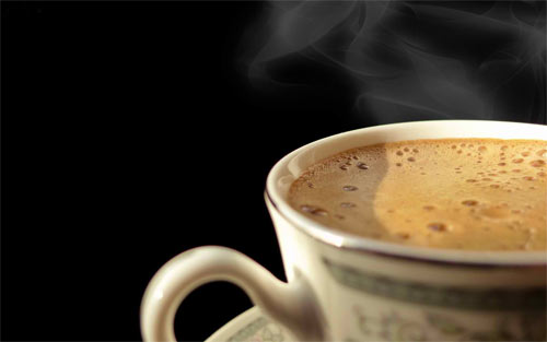 Cup Of Hot Coffee_95885 Wallpaper