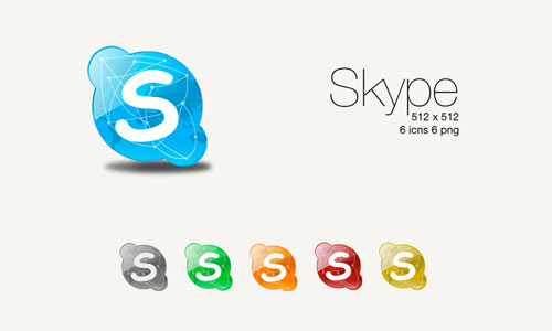 Skype Colours icon