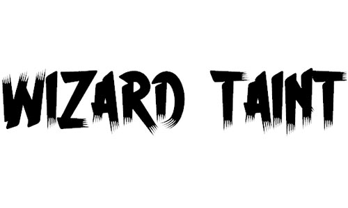 H74 Wizard Taint font