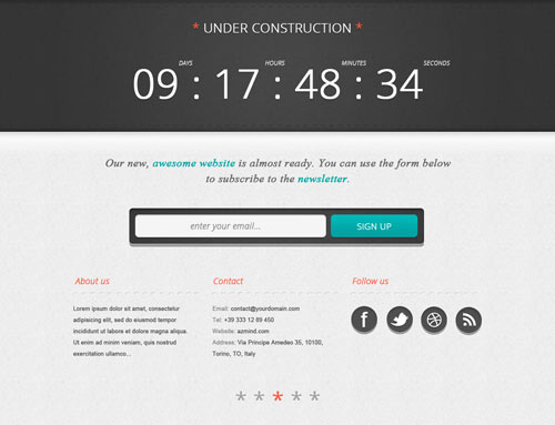 "Create a Bold ""Under Construction"" Page, Part 1: Photoshop"