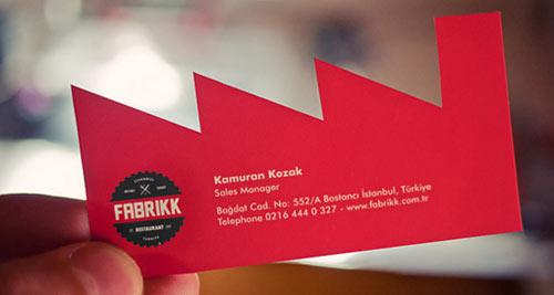 Fabrikk Business Card