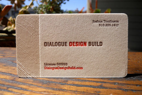 Dialogue Design Build Business Card