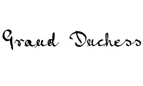 Grand Duchess font