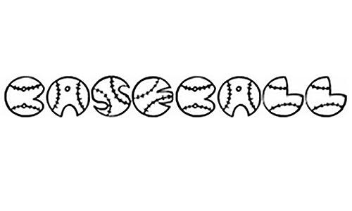 JI Baseball font