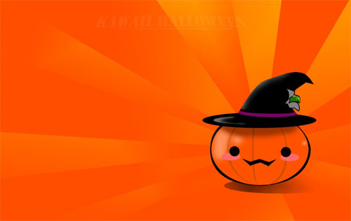 Kawaii Japanese Halloween wallpapers