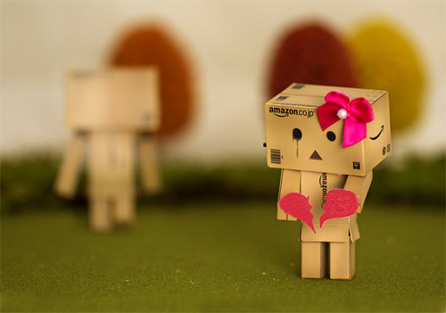 Girl heartbreak crying danbo photography cute