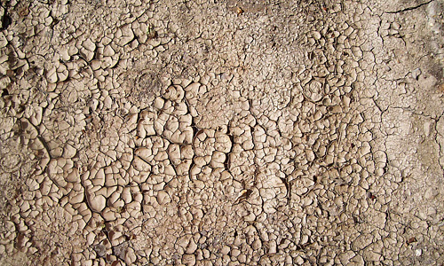 Lump grey mud texture