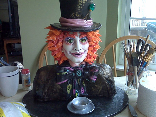 Mad hatter unusual cake design cool