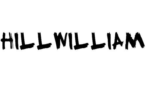 HillWilliam font